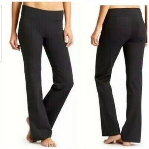 Athleta Metro Classic Pants Flare Yoga Pockets